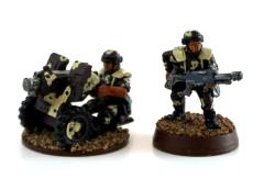 Cadian Heavy Bolter Collection #13