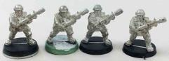Cadians w/Meltaguns Collection #2