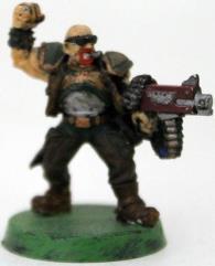 Catachan Lieutenant #1