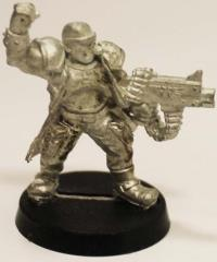 Catachan Lieutenant #4