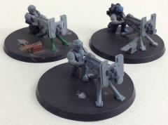 Cadian Heavy Bolter Team Collection #1