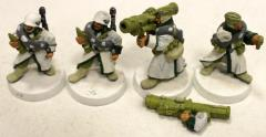 Ice Warriors of Valhalla w/Missile Launchers Collection #1