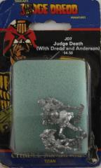 Judge Death w/Dredd and Anderson