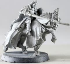 Prince Imrahil of Dol Amroth Mounted #1