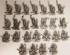 Pygmies w/Spears & Shields Collection