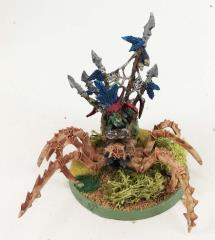 Scuttle Boss on Giant Spider #1