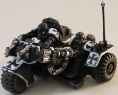Black Templars Attack Bike