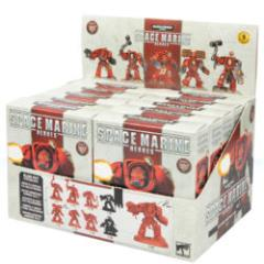 Space Marine Heroes Series 2 Blind Box Display