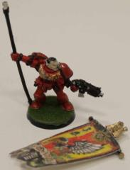 Blood Angels Standard Bearer #1