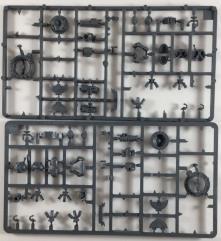 Space Marine Rhino Bits Collection #1