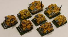 Space Marine Tank Collection #1
