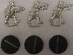 Steel Legion Troops w/Assault Weapons #1