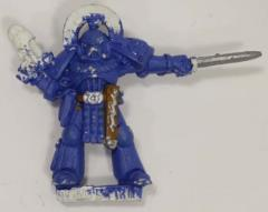 Ultramarine Captain #1