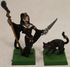 Female Vampire w/Cat