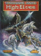Warhammer Armies - High Elves (1997 Edition)