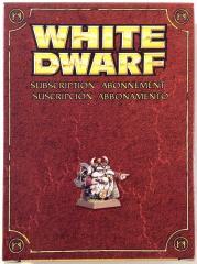 White Dwarf 2009 Model