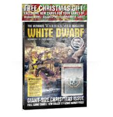 """#16 """"Giant-Size Christmas Issue, Genestealer Cults in Pace Hulk!, New Elves and Running a League in Blood Bowl!"""""""