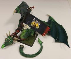 Forest Lord Mounted on Green Dragon #2
