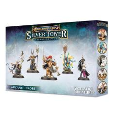 Warhammer Quest - Silver Tower Expansion - Arcane Heroes