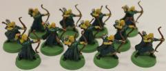 Lothlorien Elf Bowmen Collection #7
