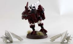 XV8 Crisis Battlesuit Commander w/Drones #1