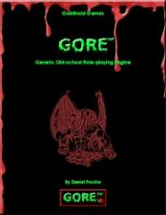 Gore - Generic Old-School Role-Playing Game