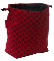 Red Dragon Scales Dice Bag (Master)