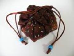 Chocolate Cupcake Lotus Dice Bag (Basic)