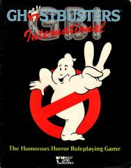 Ghostbusters - International, Rulebook Only!