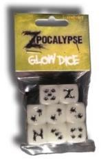 Zpocalypse Glow Dice Pack (8)