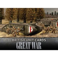 British Unit Cards
