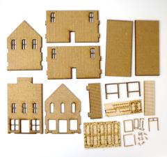 Old West Two Story Building Collection #2