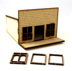 Old West One Story Building Collection #2