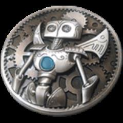 Gunnerkrigg Court Robots Coin