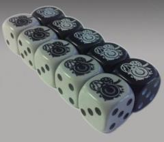 Silver Moon Tribe Dice Set (10)