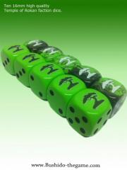 Temple of Ro-Kan Faction Dice