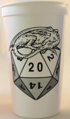 Gary Con IV Logo Cup (White)