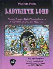 Labyrinth Lord (3rd Release, Purple Cover)