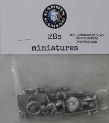 BCM D-Day Order w/Berets - 25 lb. Field Gun & Crew