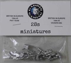 BEU Vickers MG w/PIAT Team