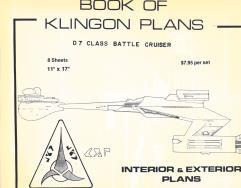 Klingon D7 Battle Cruiser