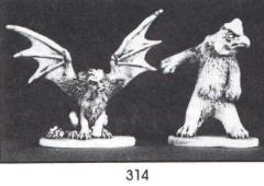 Manticore & Owl Beast