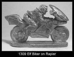 Elf Biker on Rapier