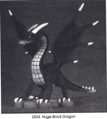 Special Edition - Huge Black Dragon