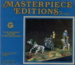 Masterpiece Editions - War Chariot of the Undead Legion