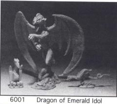 Dragons of the Emerald Idol