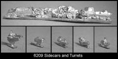 Sidecars and Turrets