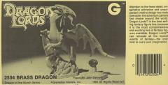 Classic Dragons - Brass Dragon