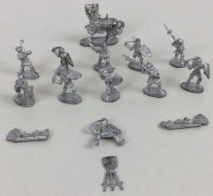 Knights, Fighters & Men-at-Arms Collection #1