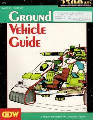 Ground Vehicle Guide (Limited Edition)